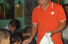 Dịch vụ điện tử FPT tặng quà tịnh thất Bồng Lai
